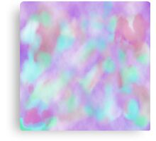 Psychedelic Watercolor  Canvas Print