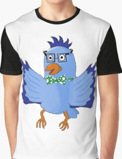 Fancy Feathers Graphic T-Shirt