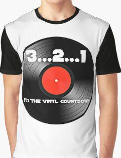 3..2..1 Vinyl Countdown Graphic T-Shirt