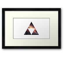 Galaxy Tri-Force Framed Print