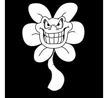 Flowey the flower from Undertale Photographic Print
