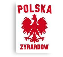 POLSKA ZYRARDOW Canvas Print