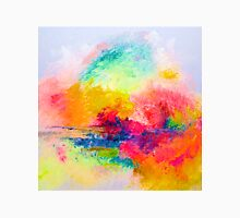 Bright Colorful Abstract Painting Print Classic T-Shirt