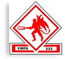 Marine Fighter Attack Squadron 232 Insignia  Canvas Print