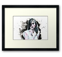 Water Girl Framed Print