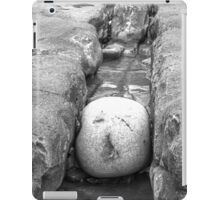 The squashed rock face iPad Case/Skin