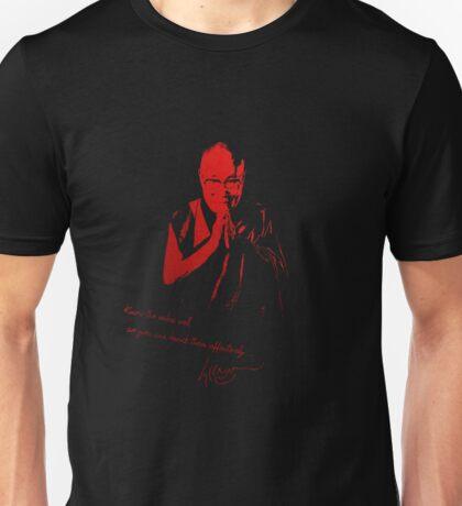 14th Dalai Lama Tenzin Gyatso - Know the rules well... Unisex T-Shirt