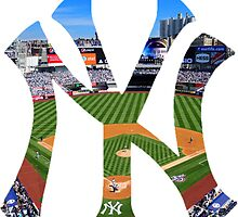 New York Yankees Stadium Logo by j423985