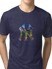 New York Yankees Stadium Logo Tri-blend T-Shirt