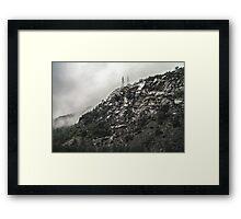 Ragged Rocks Framed Print