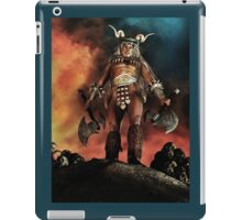 Warrior Version 1 iPad Case/Skin