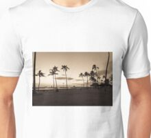 Magic Island Sunset Palm Trees Unisex T-Shirt