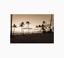 Magic Island Sunset Palm Trees Unisex T-Shirt
