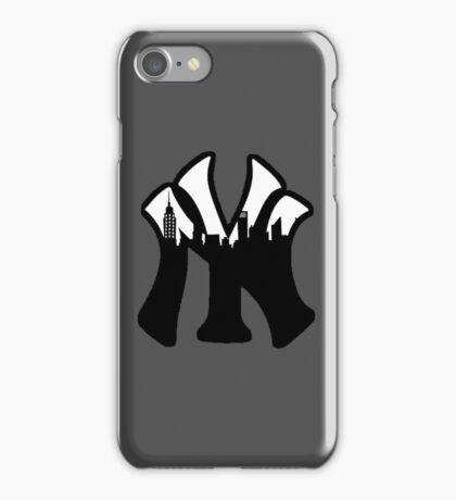 New York Yankees Skyline Logo iPhone Case/Skin