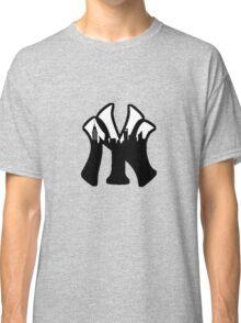 New York Yankees Skyline Logo Classic T-Shirt