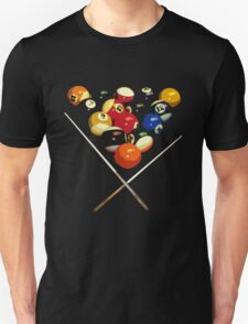 pool billard, billard balls T-Shirt