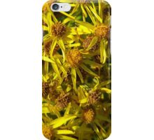 Yellow Floral Bloom iPhone Case/Skin