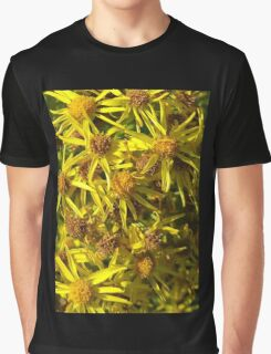 Yellow Floral Bloom Graphic T-Shirt