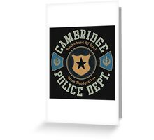 Cambridge Police Dept. Greeting Card