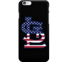 St Louis Cardinals Flag Logo iPhone Case/Skin