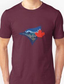 Toronto Blue Jays Skyline Logo Unisex T-Shirt