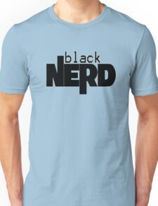 Black Nerd Unisex T-Shirt
