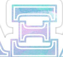 ALPHA XI DELTA AXID A XI D AYEZEEDEE Sticker