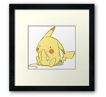 Cute Pika Framed Print