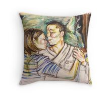 Recovery Area Throw Pillow