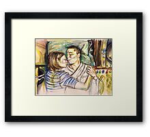 Recovery Area Framed Print