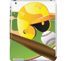 Yellow Baseball iPad Case/Skin