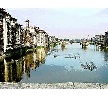 Beautiful Florence Photographic Print