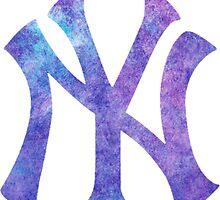 New York Yankees Watercolor Logo by j423985