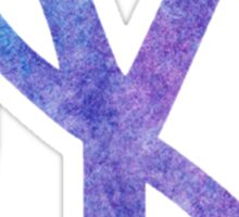New York Yankees Watercolor Logo Sticker