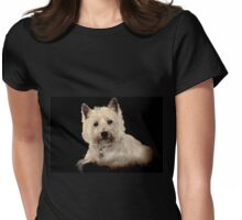 Archie, West Highland Terrier Womens Fitted T-Shirt