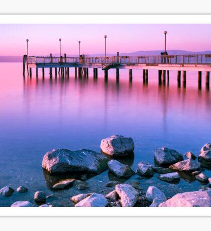Surreal Pink Sunset  Sticker