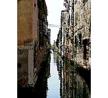 The Old Canal Photographic Print