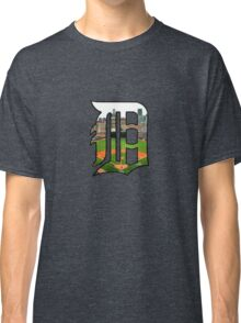 Detroit Tigers Stadium Logo Classic T-Shirt