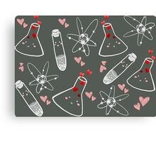 Chem love Canvas Print
