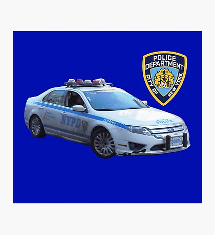 NYPD 1 Photographic Print