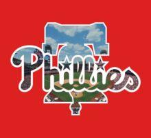 Philadelphia Phillies Stadium Logo Kids Tee