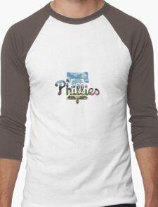 Philadelphia Phillies Stadium Logo Men's Baseball ¾ T-Shirt