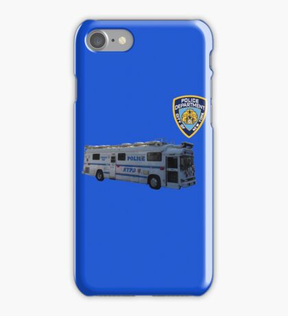 nypd 2 iPhone Case/Skin
