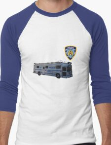 nypd 2 Men's Baseball ¾ T-Shirt