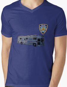 nypd 2 Mens V-Neck T-Shirt