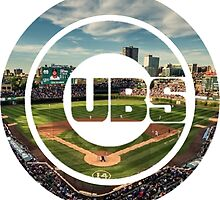 Chicago Cubs Stadium Logo by j423985