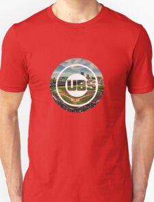 Chicago Cubs Stadium Logo T-Shirt
