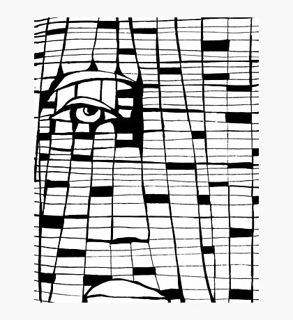 Matrix Photographic Print