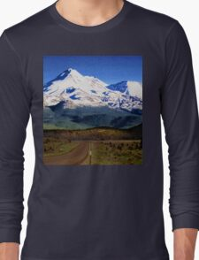 Mt. Shasta Graphic Long Sleeve T-Shirt