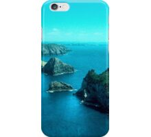 Cape Brett at the entrance to the Bay of Islands,  New Zealand....!   iPhone Case/Skin